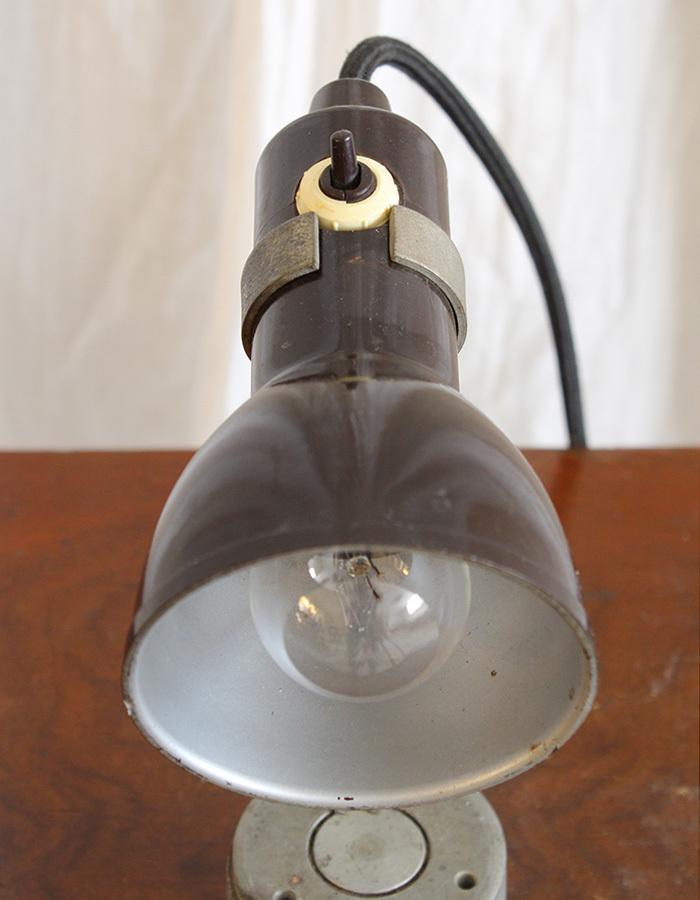 インテリア フランスアンティーク インダストリアルデスクランプ テーブルランプ 卓上照明 ライト 工業系 ひとり暮らし 新生活 勉強机 LED_画像7