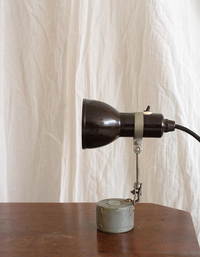インテリア フランスアンティーク インダストリアルデスクランプ テーブルランプ 卓上照明 ライト 工業系 ひとり暮らし 新生活 勉強机 LED_画像5