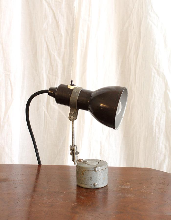 インテリア フランスアンティーク インダストリアルデスクランプ テーブルランプ 卓上照明 ライト 工業系 ひとり暮らし 新生活 勉強机 LED_画像4