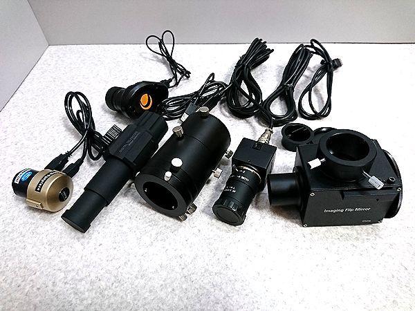 天体望遠鏡周りまとめて USBカメラELP-USB8MP02G-SFV フリップミラー カメラアダプター デジタル望遠鏡 デジタルアイピース セレストロン他