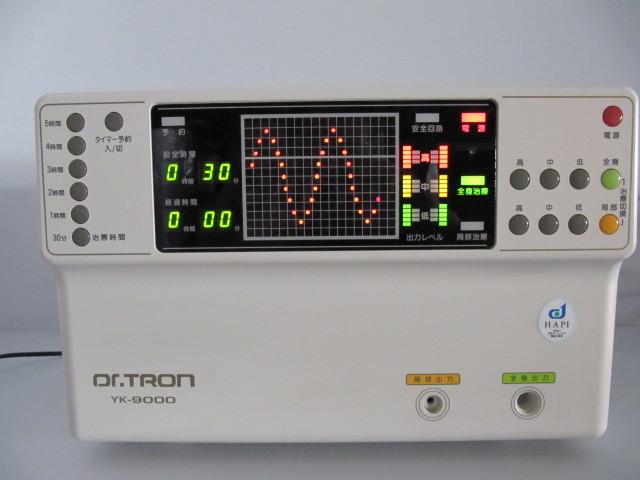 Dr.TRON ドクタートロン YK-9000 高圧 電位 治療器 局所 治療用 頭痛 肩こり 不眠 腰痛 便秘 アレルギー体質 花粉症 健康_画像2