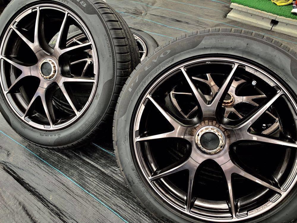 *RAYS /レーズ*HOMURA* , 18インチ ラジアルタイヤ 、235/50 R18 97W 、4本セットまとめ!
