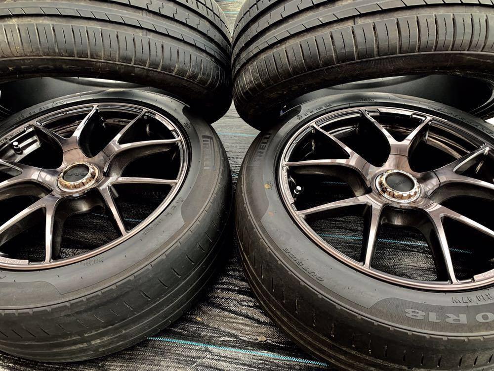 *RAYS /レーズ*HOMURA* , 18インチ ラジアルタイヤ 、235/50 R18 97W 、4本セットまとめ!_画像5