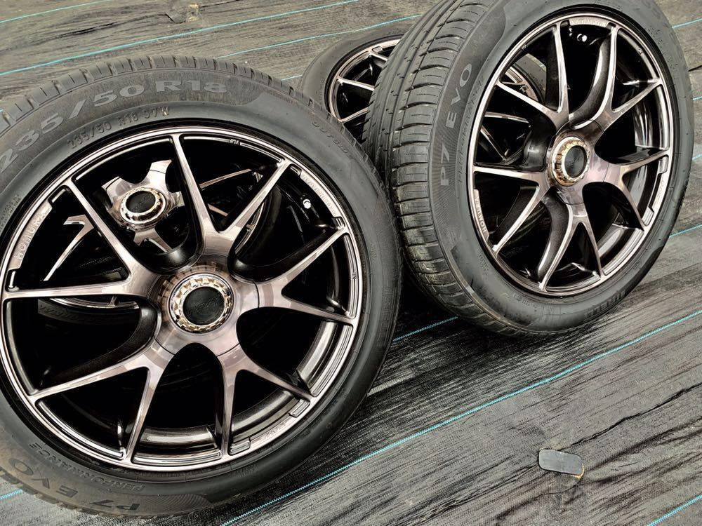 *RAYS /レーズ*HOMURA* , 18インチ ラジアルタイヤ 、235/50 R18 97W 、4本セットまとめ!_画像2