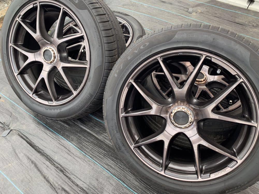 *RAYS /レーズ*HOMURA* , 18インチ ラジアルタイヤ 、235/50 R18 97W 、4本セットまとめ!_画像8