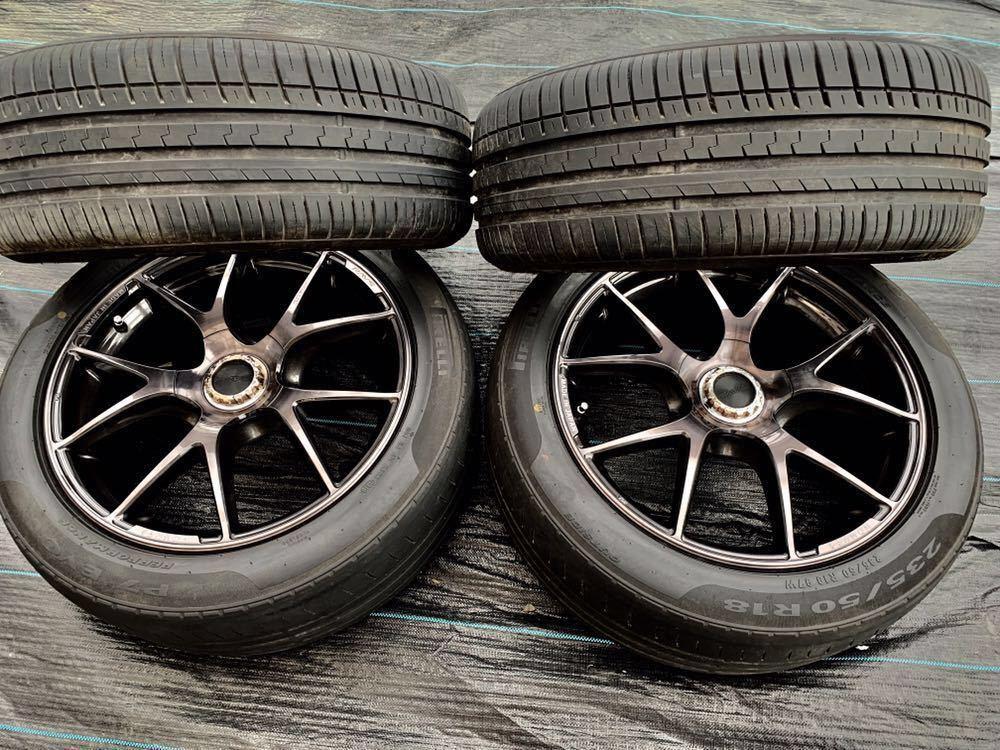 *RAYS /レーズ*HOMURA* , 18インチ ラジアルタイヤ 、235/50 R18 97W 、4本セットまとめ!_画像6
