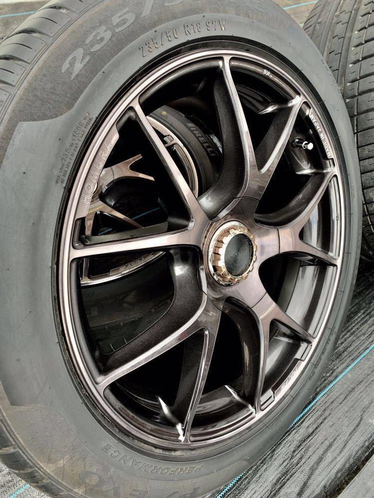 *RAYS /レーズ*HOMURA* , 18インチ ラジアルタイヤ 、235/50 R18 97W 、4本セットまとめ!_画像3