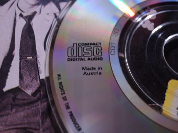 """稀少 3""""CDシングル DAVID BOWIE ABSOLUTE BEGINNERS/CDT20/Austria盤◇8センチCDS デヴィッド・ボウイ 8cmCDシングル_画像5"""