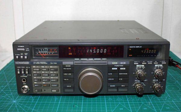 ケンウッド TS-790S 50W機 144/430MHz 動作品 /310401