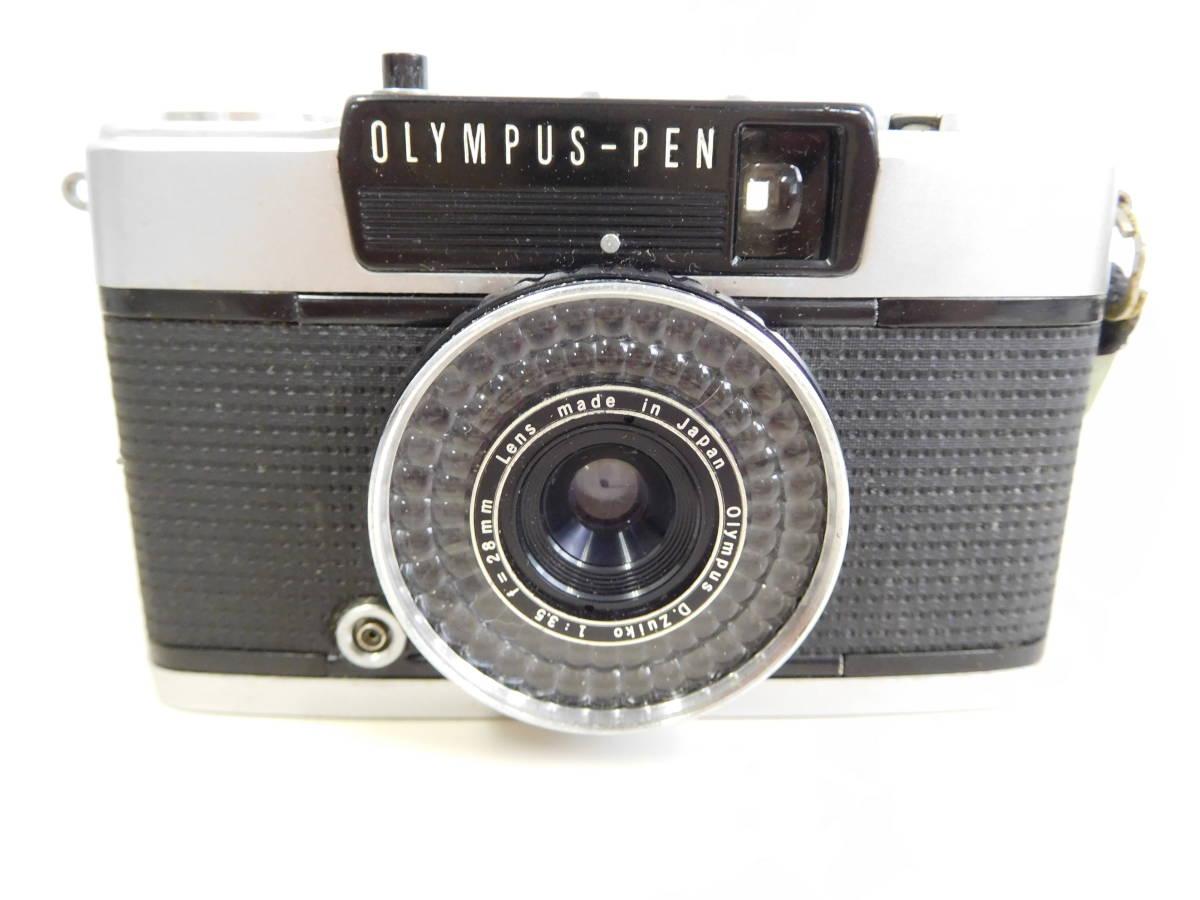 OLYMPUS オリンパス PEN EE3 EE-3 フラッシュ付き PS 200 QUICK シャッター確認済み 4:20JKL0.5_画像2