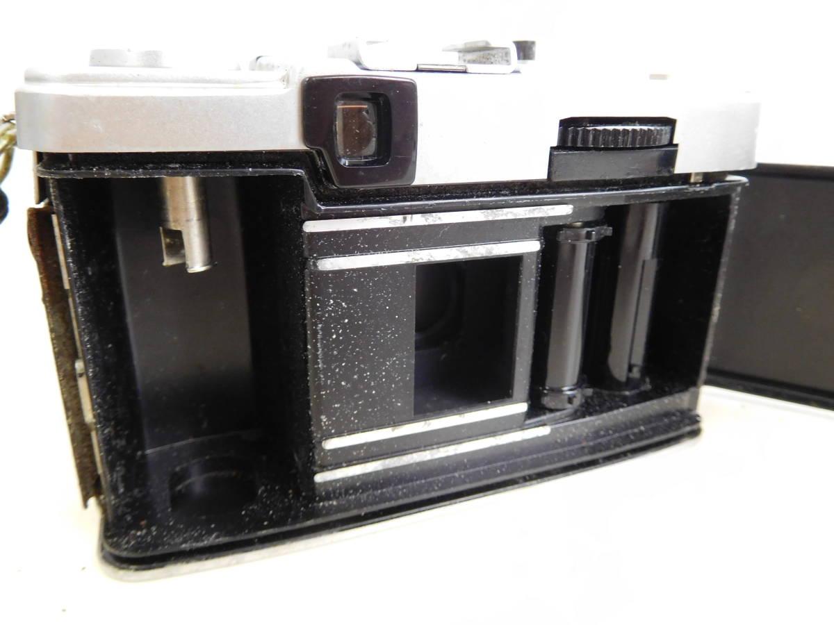 OLYMPUS オリンパス PEN EE3 EE-3 フラッシュ付き PS 200 QUICK シャッター確認済み 4:20JKL0.5_画像4