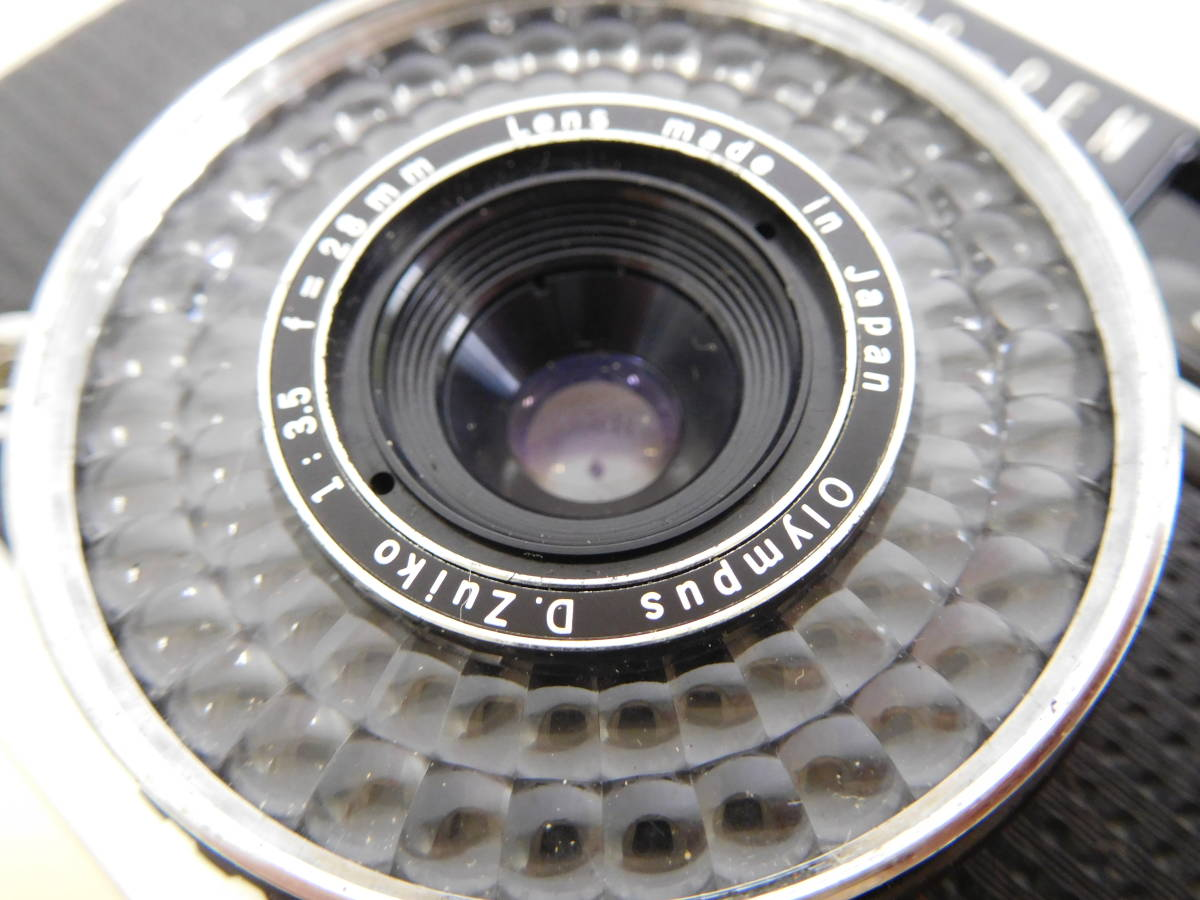 OLYMPUS オリンパス PEN EE3 EE-3 フラッシュ付き PS 200 QUICK シャッター確認済み 4:20JKL0.5_画像6