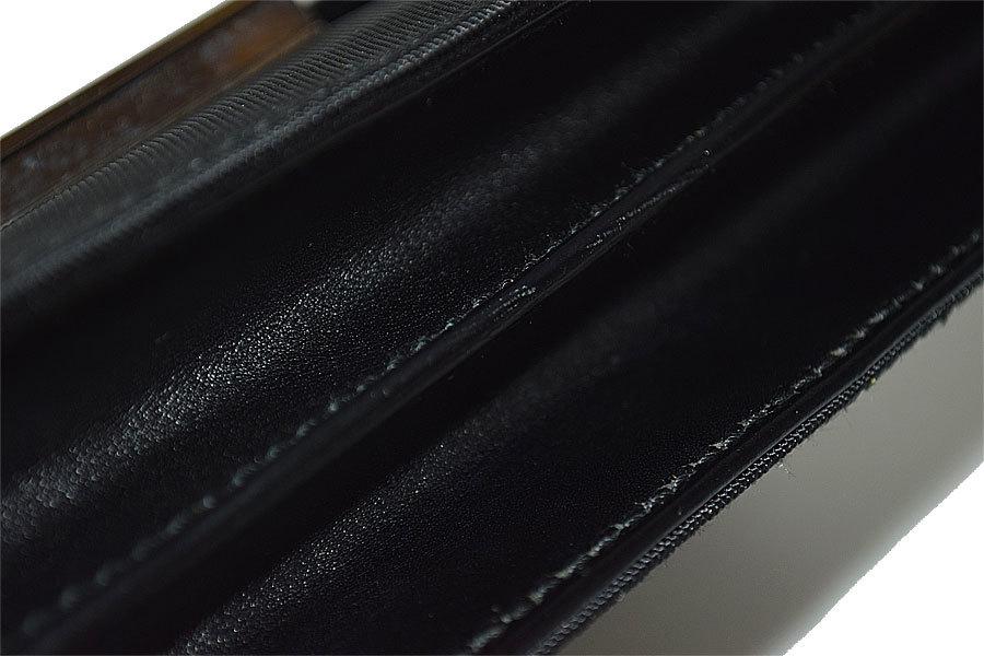 ★極美品★グッチ レザー シルバー金具 ハンドバッグ セカンドバッグ 黒★_画像8