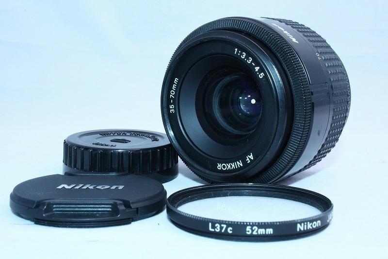 ★極上美品★☆初心者入門セット☆ Nikon ニコン D70 レンズセット / Nikon AF35-70mm / フィルター付きの綺麗なレンズです!_画像6