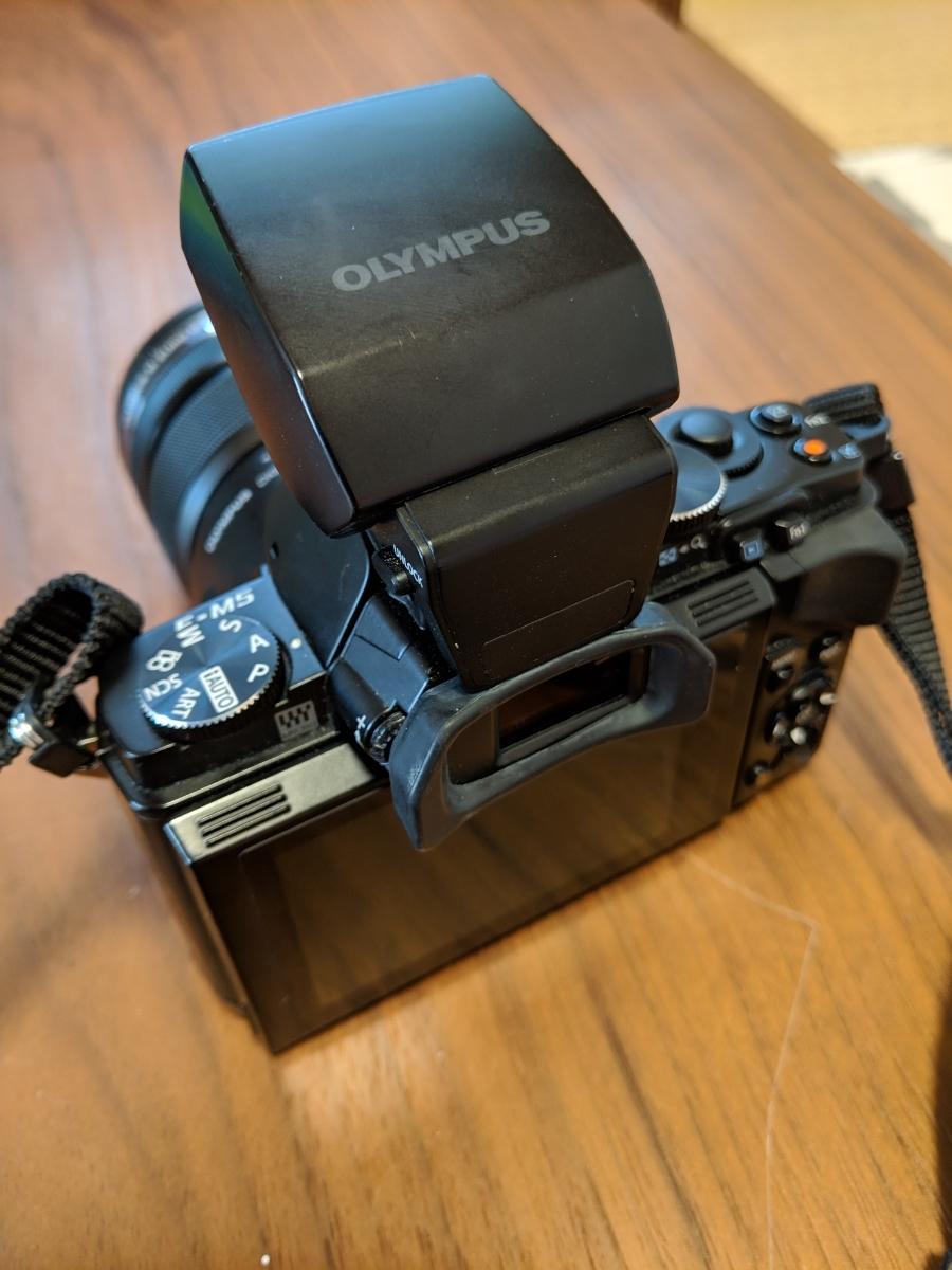 オリンパス OM-D E-M5 ブラックボディ レンズ付_画像3