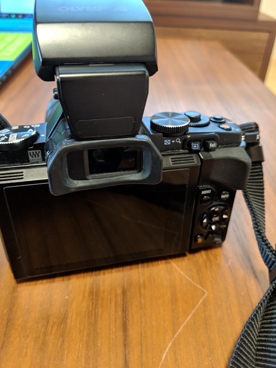 オリンパス OM-D E-M5 ブラックボディ レンズ付_画像4