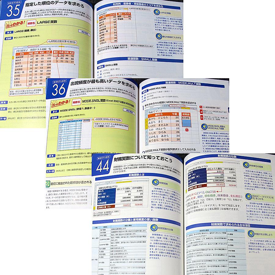 はじめてのExcel2010 実用関数編|使うと便利 効率アップ エクセル関数活用ガイド 基本 日時計算 データ分析 文字列操作 財務計算#◇_本編は良品レベルのコンディションです