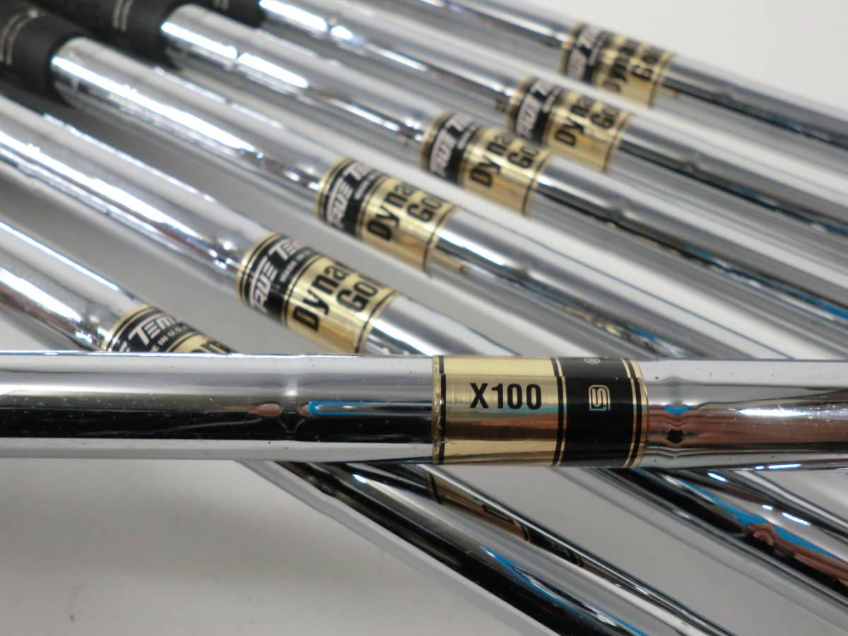ミズノ MP-60 4~PW ダイナミックゴールドX100_画像8