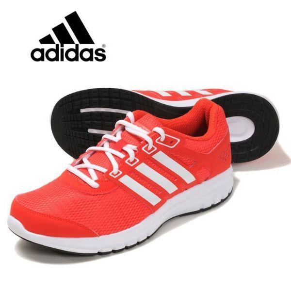 adidas アディダス ランニング デュラモライトM オレンジ 26cm