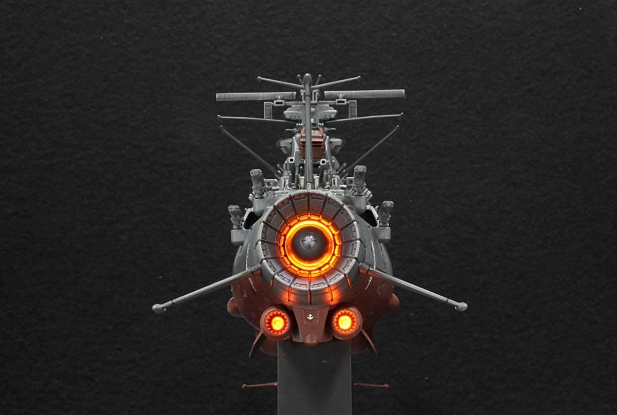 バンダイ 1/1000 宇宙戦艦ヤマト2202(最終決戦仕様)アクション改修ウェザリングVer制作完成品_画像6