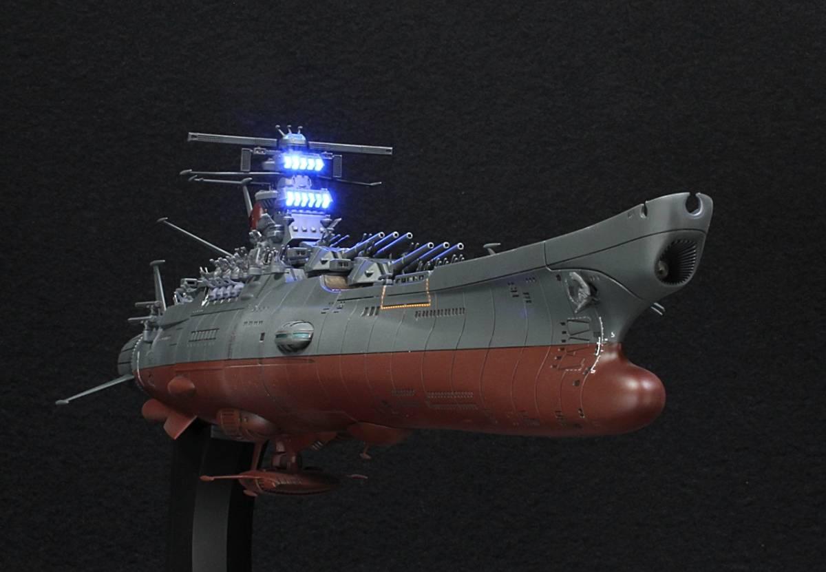 バンダイ 1/1000 宇宙戦艦ヤマト2202(最終決戦仕様)アクション改修ウェザリングVer制作完成品_画像7