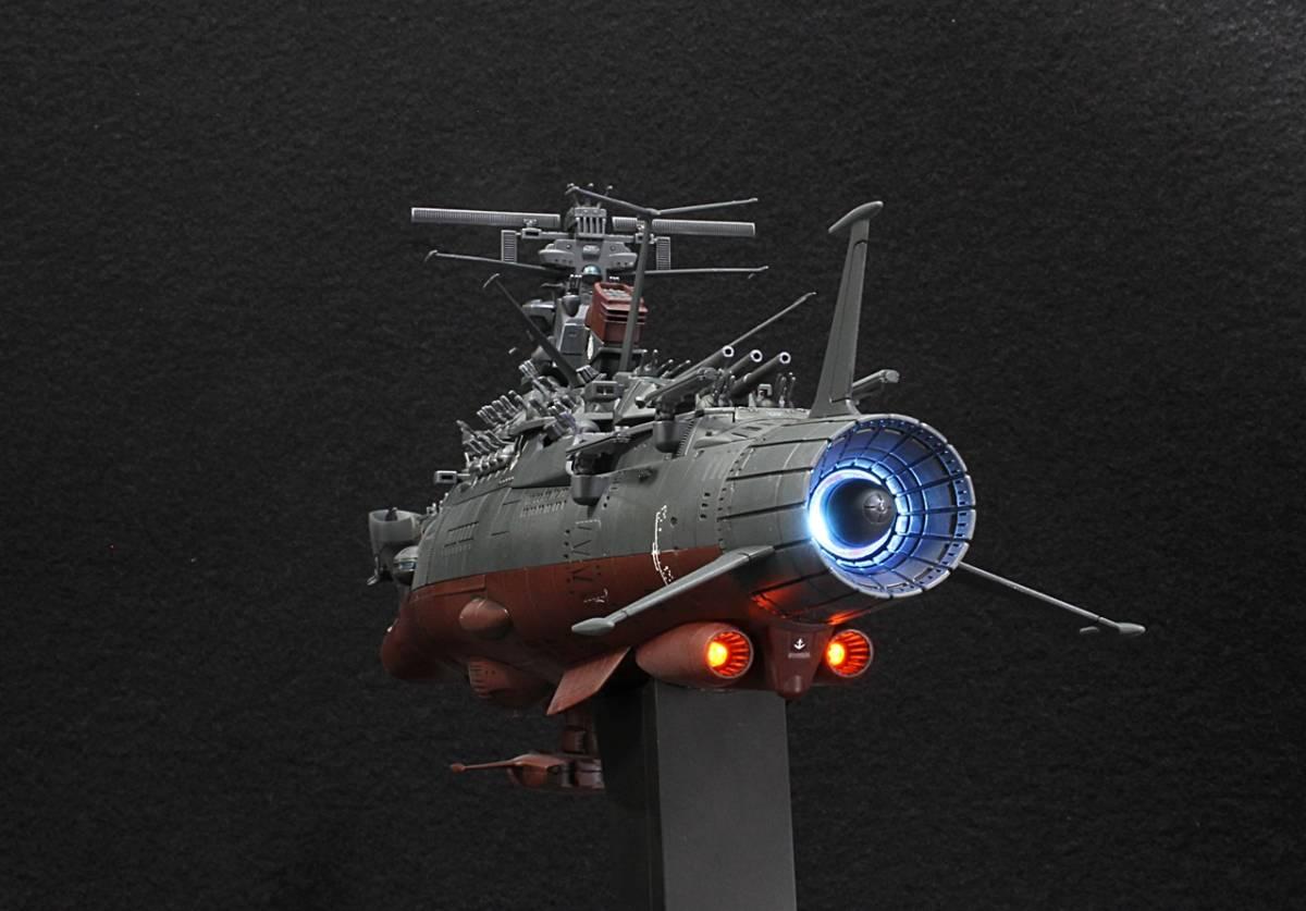 バンダイ 1/1000 宇宙戦艦ヤマト2202(最終決戦仕様)アクション改修ウェザリングVer制作完成品_画像5