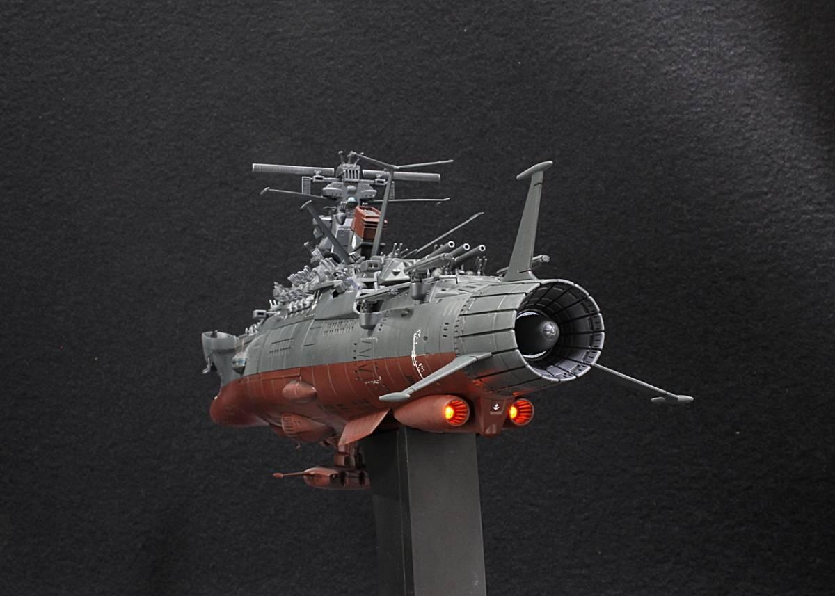 バンダイ 1/1000 宇宙戦艦ヤマト2202(最終決戦仕様)アクション改修ウェザリングVer制作完成品_画像4