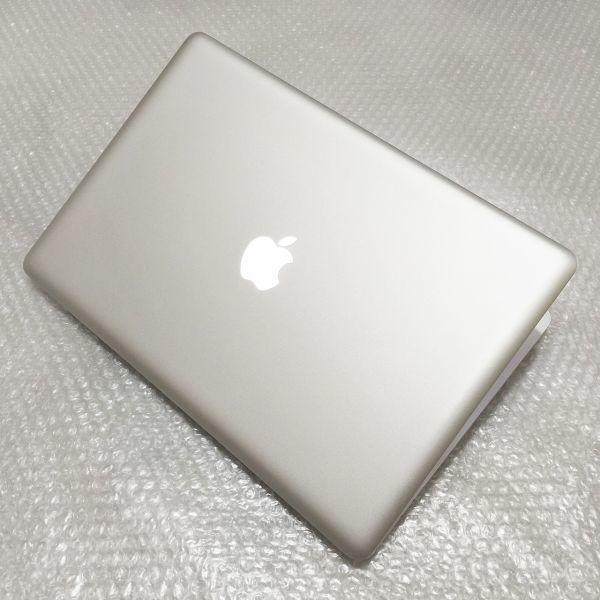 極美★ MacBook Pro 15 Core i7-4コア 新品SSD:240GB メモリ:8GB 新品バッテリー Office2016_画像6