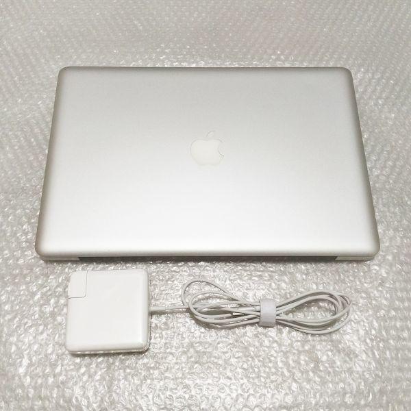 極美★ MacBook Pro 15 Core i7-4コア 新品SSD:240GB メモリ:8GB 新品バッテリー Office2016_画像2
