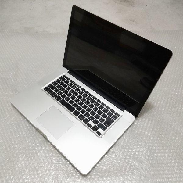極美★ MacBook Pro 15 Core i7-4コア 新品SSD:240GB メモリ:8GB 新品バッテリー Office2016_画像5