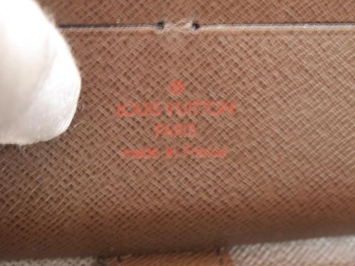 ■【極美品】ルイヴィトン Louis Vuitton ダミエ ジッピー オーガナイザー 長財布 メンズ レディース 定価約12万_画像10