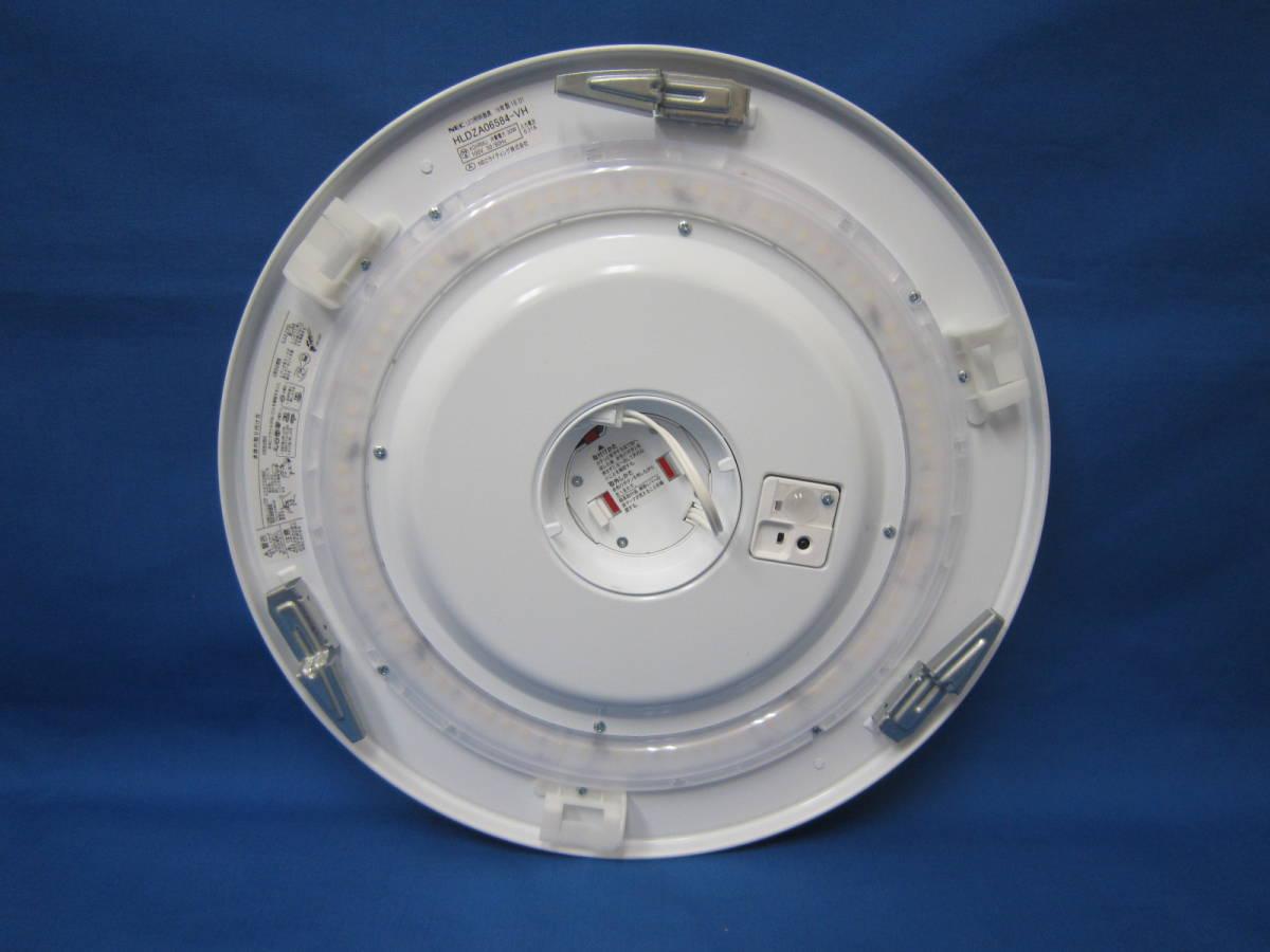 1円~美品!NEC LEDシーリングライト HLDZA06584 ~6畳 昼光色 調色 2016年製 リモコン付き 照明器具/2_画像2