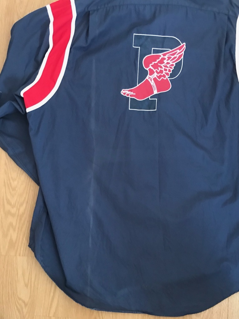 VTG vintage RALPH LAUREN ウイングフット P wing 長袖シャツ  92 1992_画像8