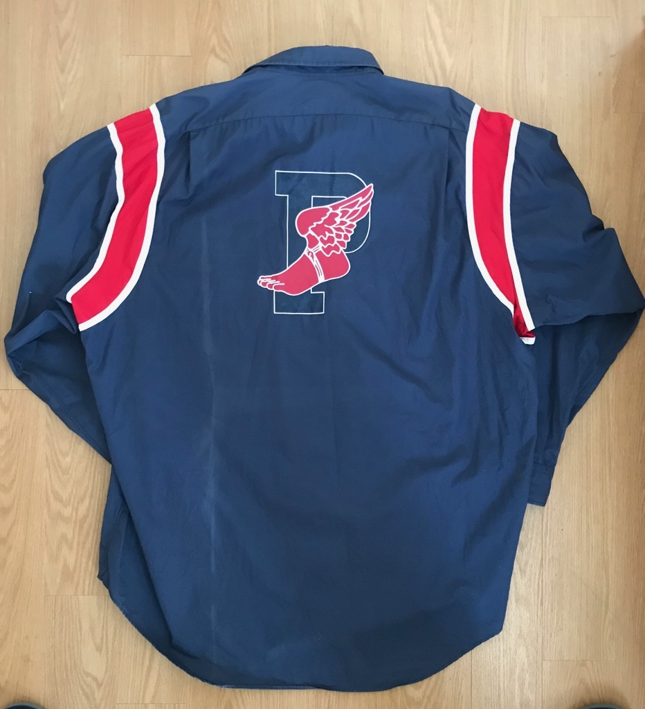 VTG vintage RALPH LAUREN ウイングフット P wing 長袖シャツ  92 1992_画像1