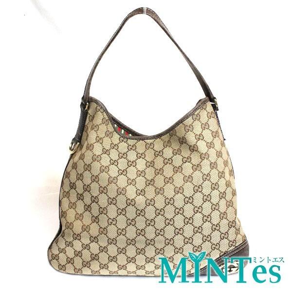 new product 88498 7d454 Gucci グッチ GGキャンバス ショルダーバッグ 169947 ベージュ ブラウン 肩掛け 定番 人気