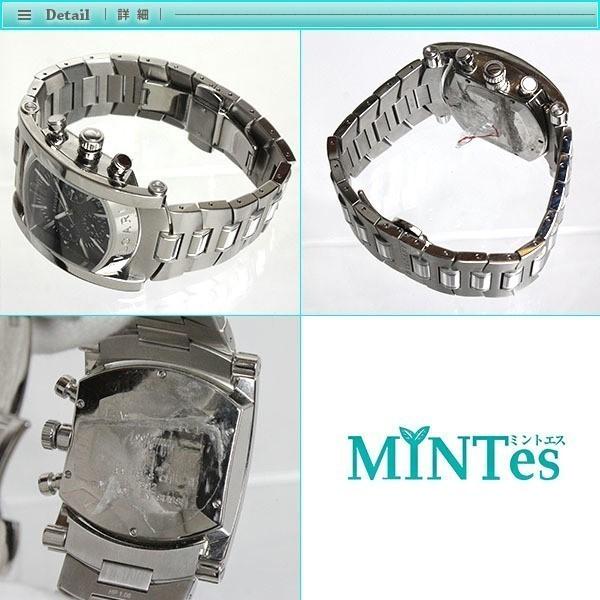 BVLGARI ブルガリ アショーマ クロノグラフ メンズ腕時計 オートマチック AA48SCH グレー文字盤 シルバー 定番 人気_画像3