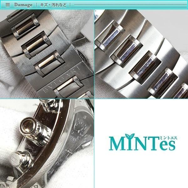 BVLGARI ブルガリ アショーマ クロノグラフ メンズ腕時計 オートマチック AA48SCH グレー文字盤 シルバー 定番 人気_画像6