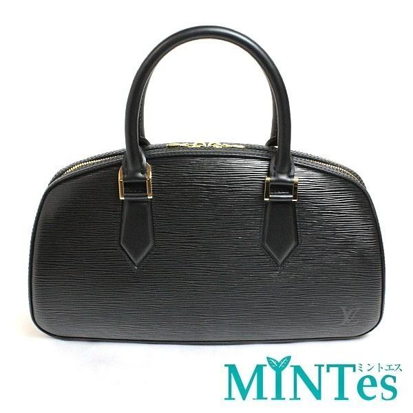 Louis Vuitton ルイヴィトン ジャスミン ハンドバッグ M52782 エピ ノワール 定番 人気
