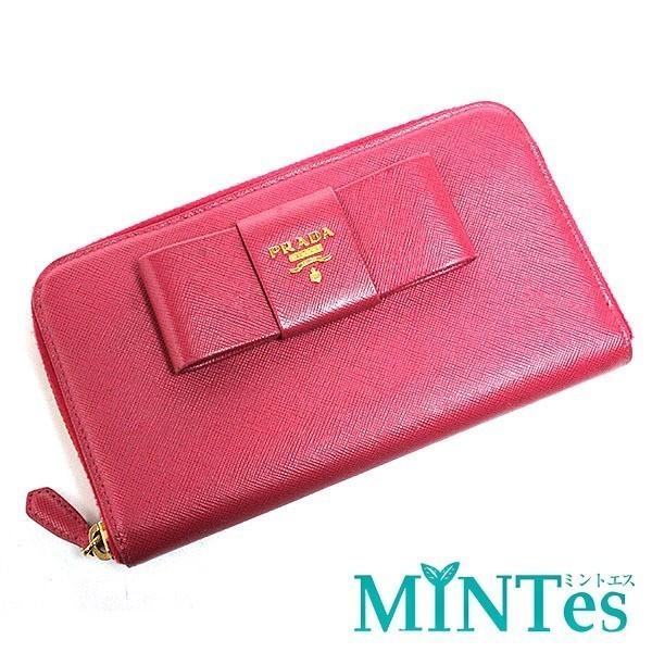 new products 0a79d b47b5 プラダ 長財布 ピンク リボンの値段と価格推移は?|24件の売買 ...