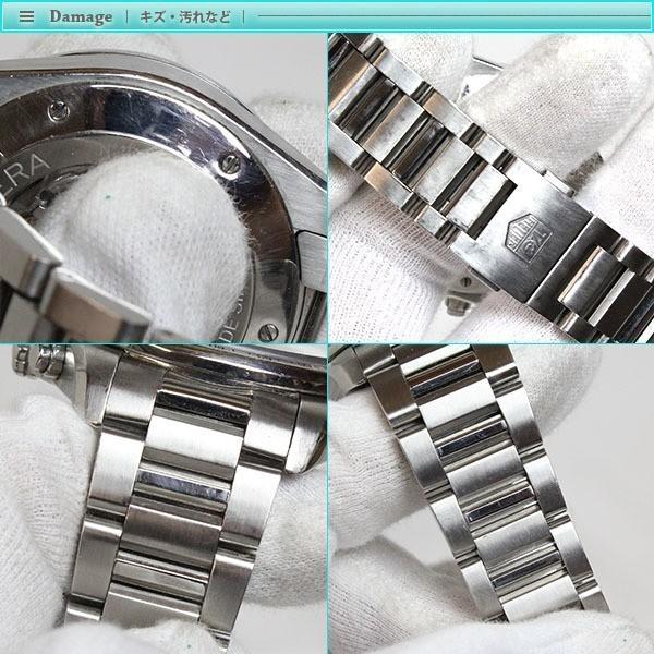 大人気 TAG Heuer タグホイヤー グランドカレラ クロノグラフ メンズ腕時計 オートマチック CAV511A  裏スケ  キャリバー17_画像6