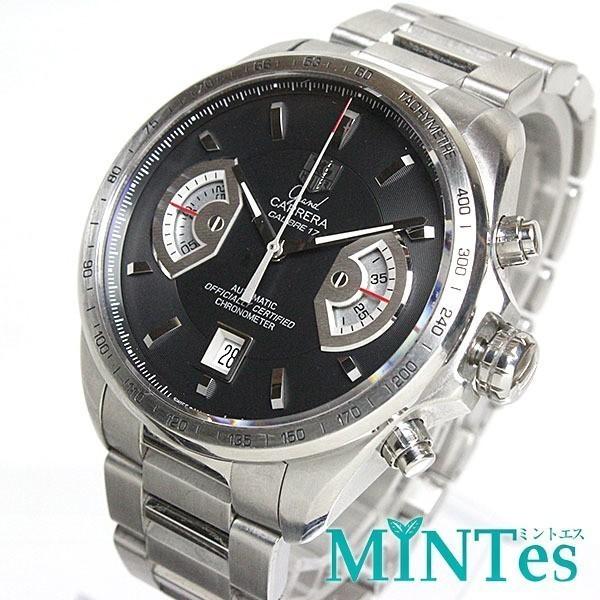 大人気 TAG Heuer タグホイヤー グランドカレラ クロノグラフ メンズ腕時計 オートマチック CAV511A  裏スケ  キャリバー17_画像1