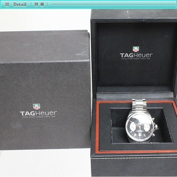 大人気 TAG Heuer タグホイヤー グランドカレラ クロノグラフ メンズ腕時計 オートマチック CAV511A  裏スケ  キャリバー17_画像4