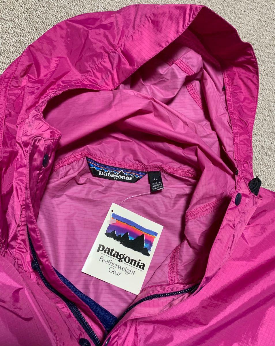 デッド 80S ビンテージ Patagonia ナイロン セットアップ アノラック プルオーバー ダスパーカー スーパーアルパイン デカタグ ジャケット_画像4