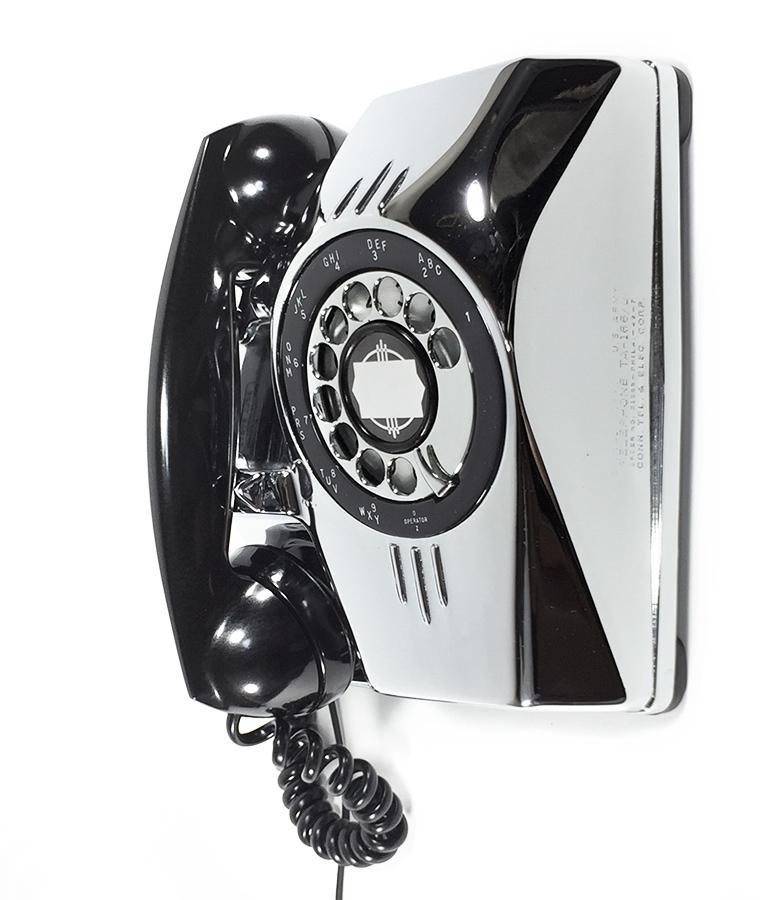 【実働】USAアンティーク 2-way 電話機/ビンテージ/ランプ/照明/家具/工業系/店舗什器/米軍ハウス/古道具/o.c.white/黒電話/ソファー/椅子_画像2