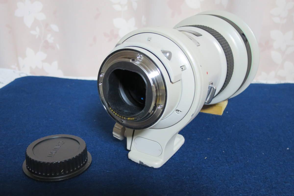 良品 Canon EF400mm F4L IS USM ケースその他備品セット 動作保障品_画像4