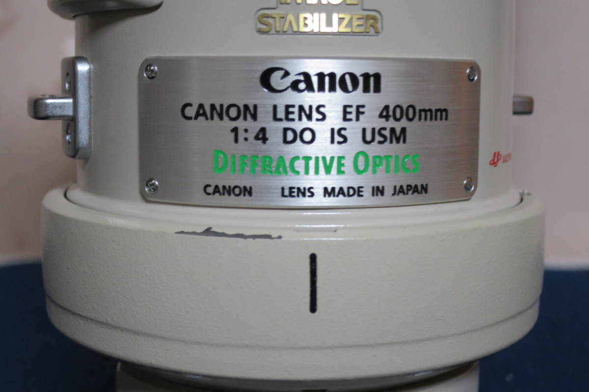 良品 Canon EF400mm F4L IS USM ケースその他備品セット 動作保障品_画像6