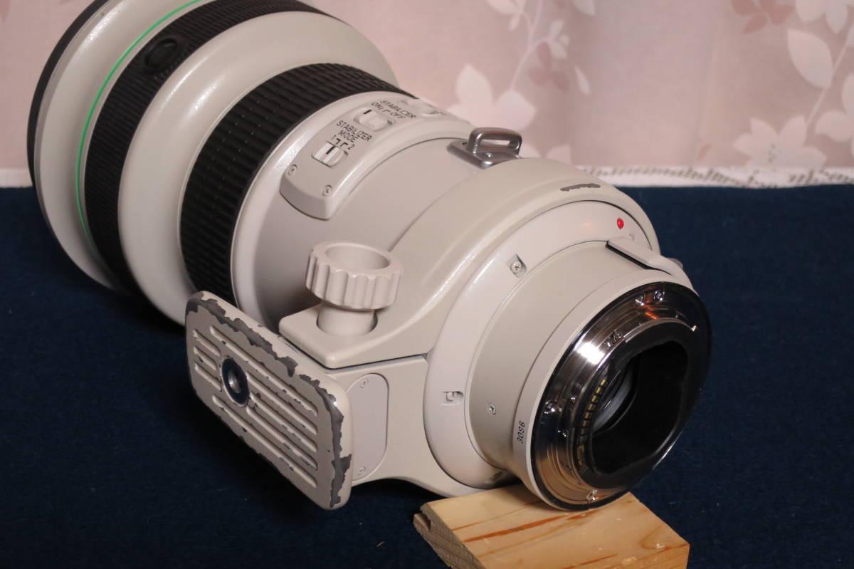 良品 Canon EF400mm F4L IS USM ケースその他備品セット 動作保障品_画像7