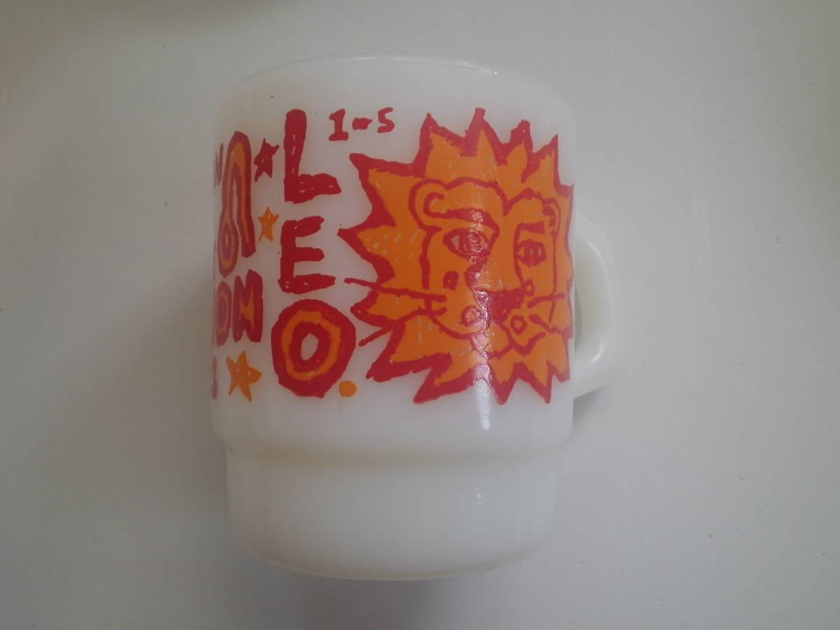 ファイアーキング ヴィンテージ マグカップ ミルクマグ ジェダイ パイレックス ビンテージ 年代 アンティーク カップ _画像9