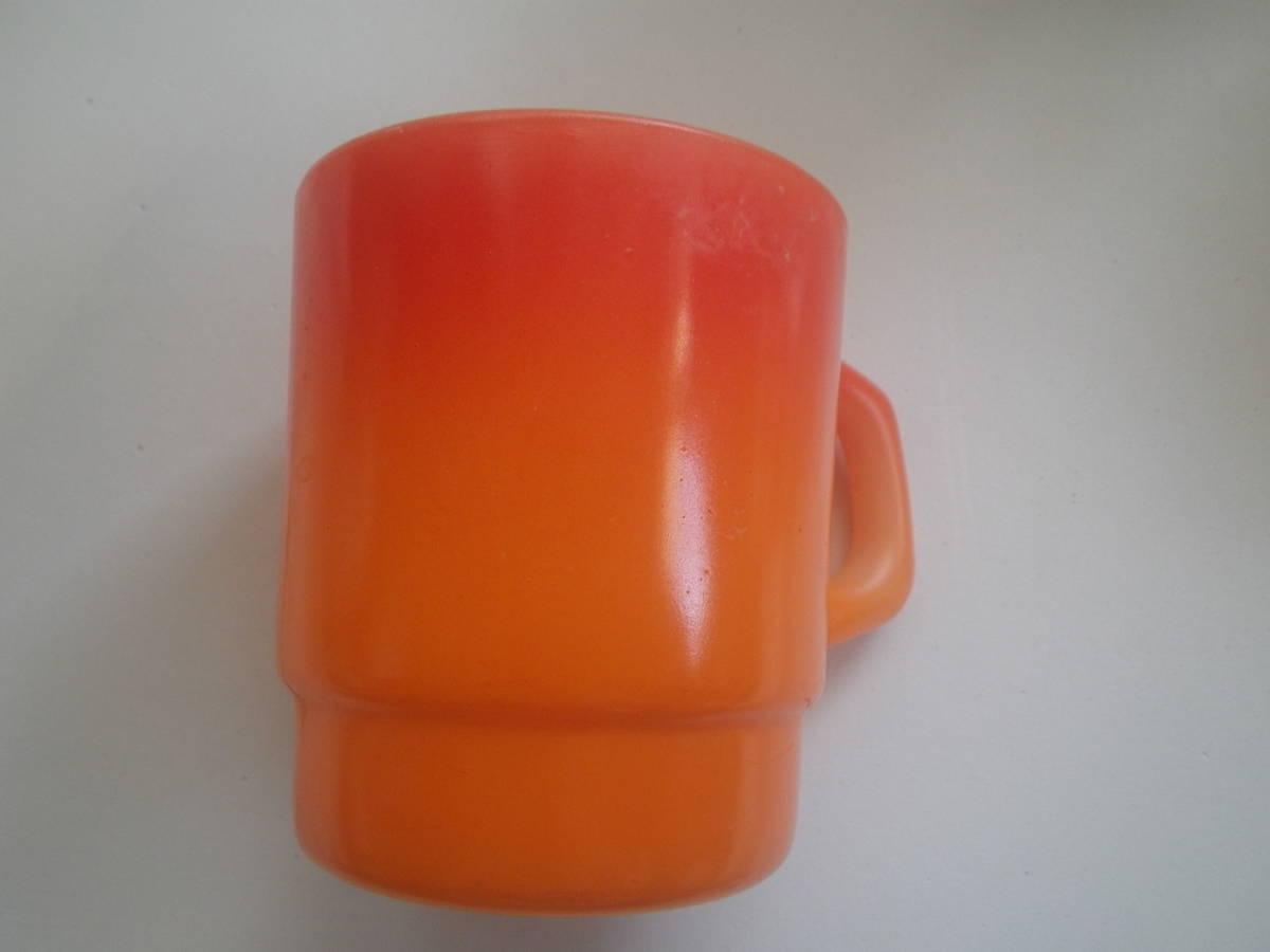 ファイアーキング ヴィンテージ マグカップ ミルクマグ ジェダイ パイレックス ビンテージ 年代 アンティーク カップ _画像8