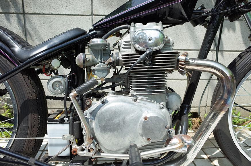 1972 HONDA CB350 チョッパー/ボバー/トライアンフ_画像3